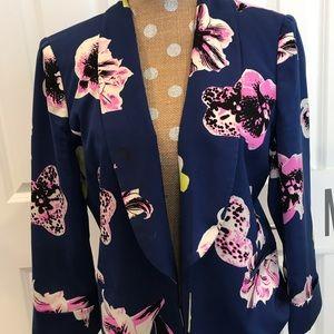 JCrew floral blazer- size 12